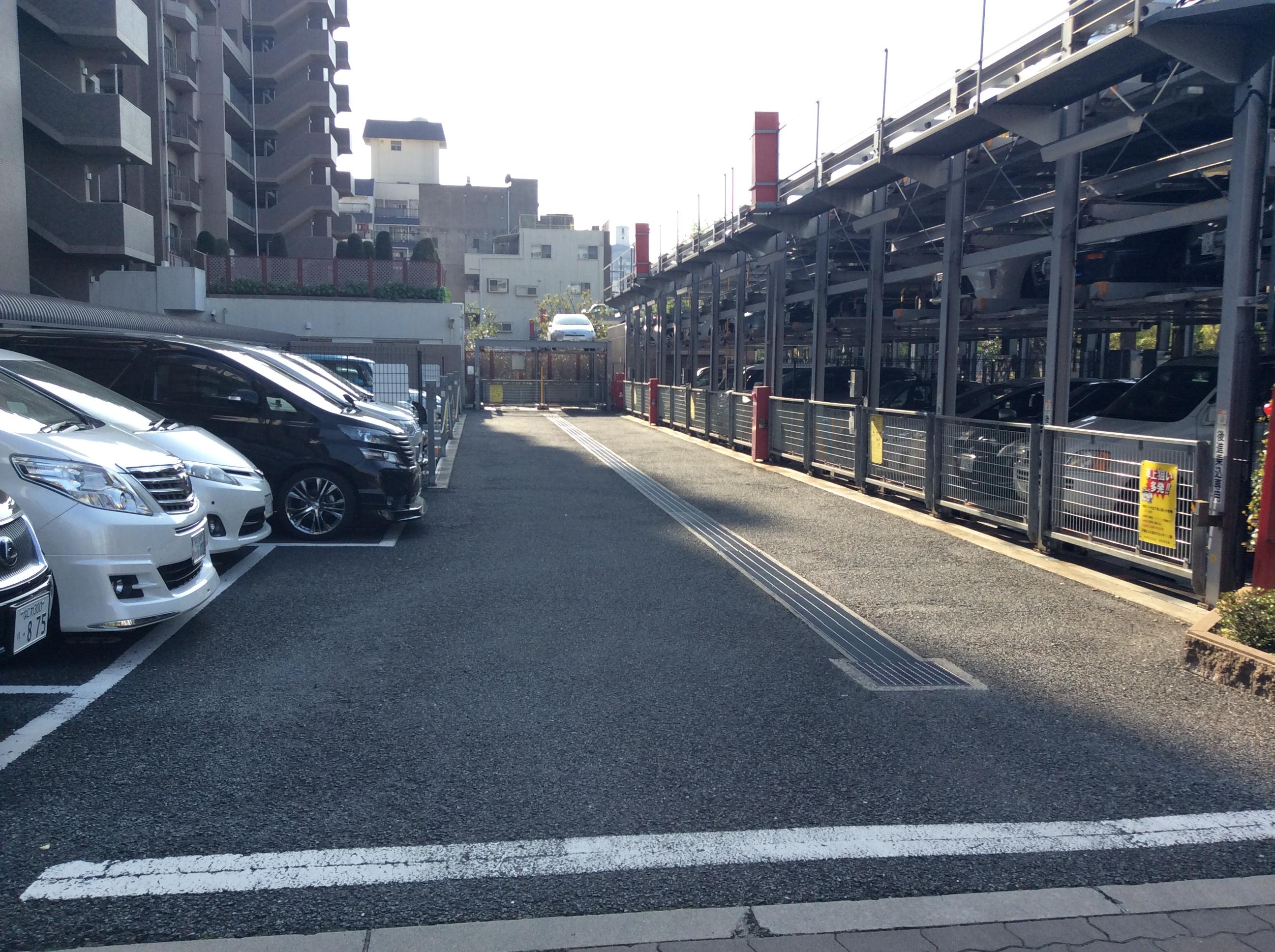 敷地内駐車場(周辺)