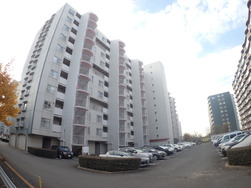 淀川パークハウス2号棟(外観)