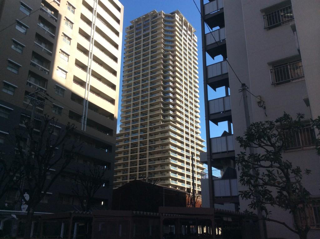 コムズシティ野江D棟(外観)