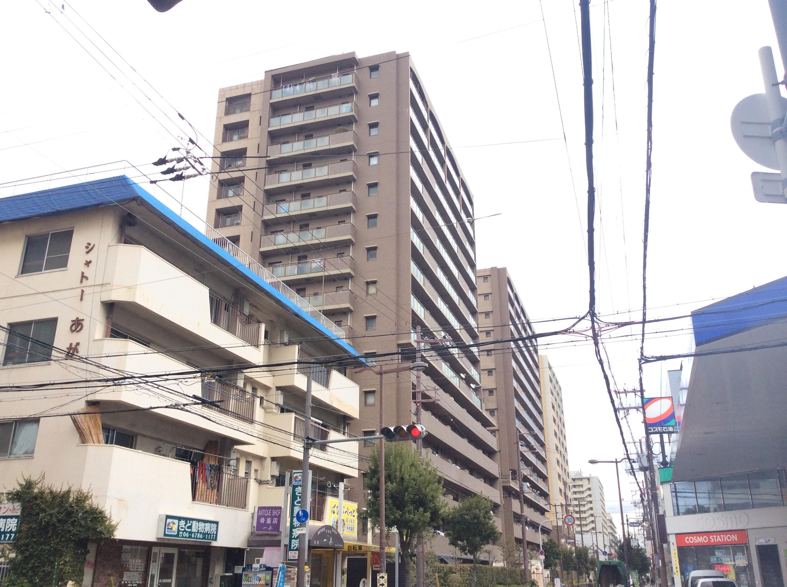 ルイシャトレ城東関目ブリーズタワー(外観)